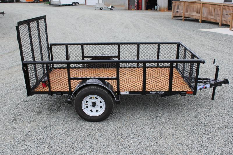 2017 Texas Bragg 5x10P 2ft Expanded Sides w/ Gate