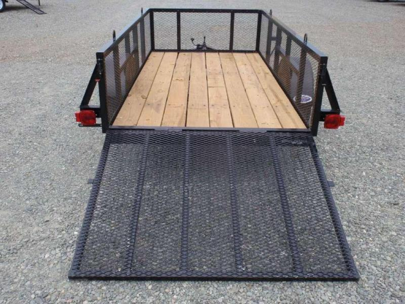 2018 Down 2 Earth Trailers 5X10 2ft Expanded Sides Utility Trailer w/ Tailgate