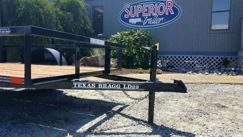 2018 Texas Bragg Trailers 5X8LD Utility Trailer