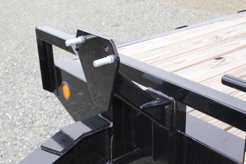 2018 PJ Trailers 24 F8 14K Deckover w/ Fold Up Ramps