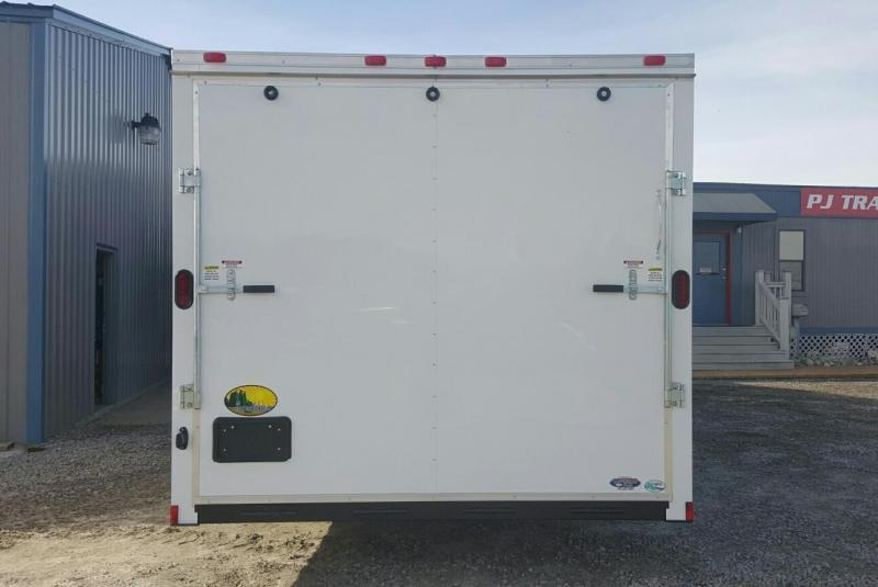 2018 Continental Cargo 8.5X20 7K w/Ramp Door