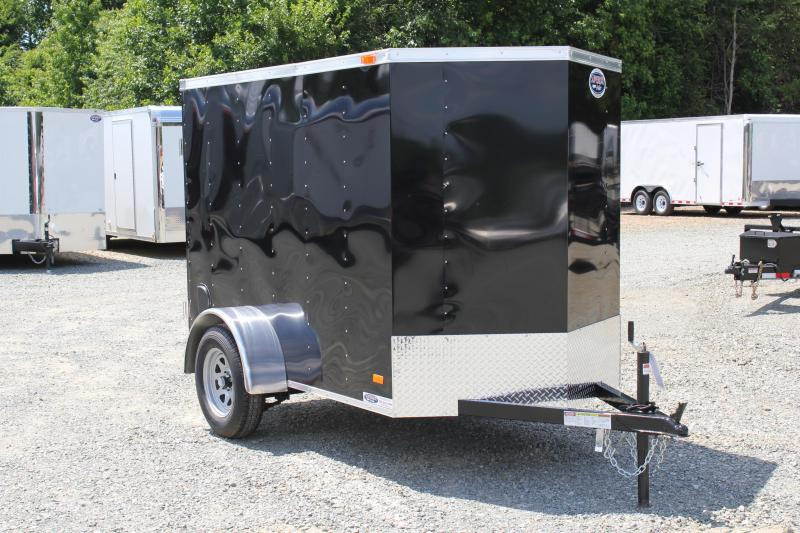 2018 Bravo Hero 5x8 w/ Extra Height & Single Swing Door