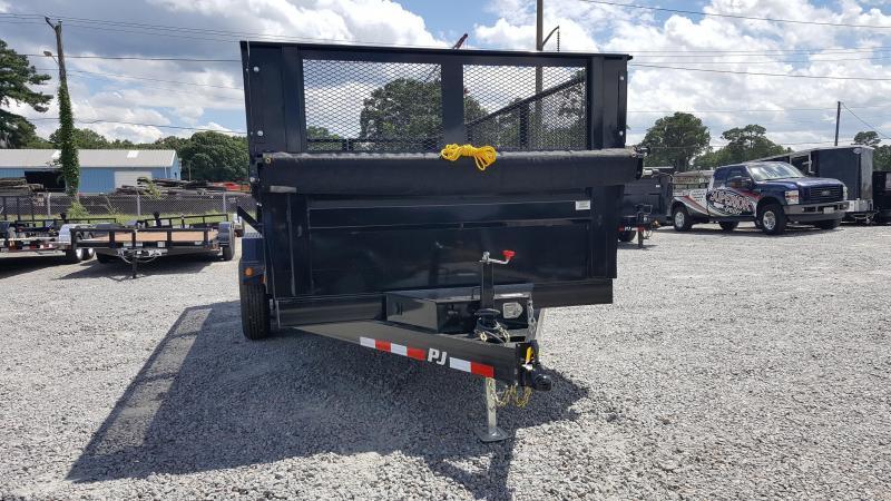 2018 PJ Trailers 7X16 D9 14K Dump w/2ft Side Extensions