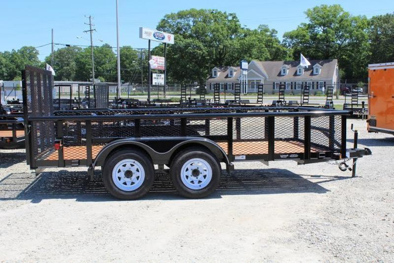 2017 Texas Bragg Trailers 12P 2ft Expanded Sides Utility Trailer