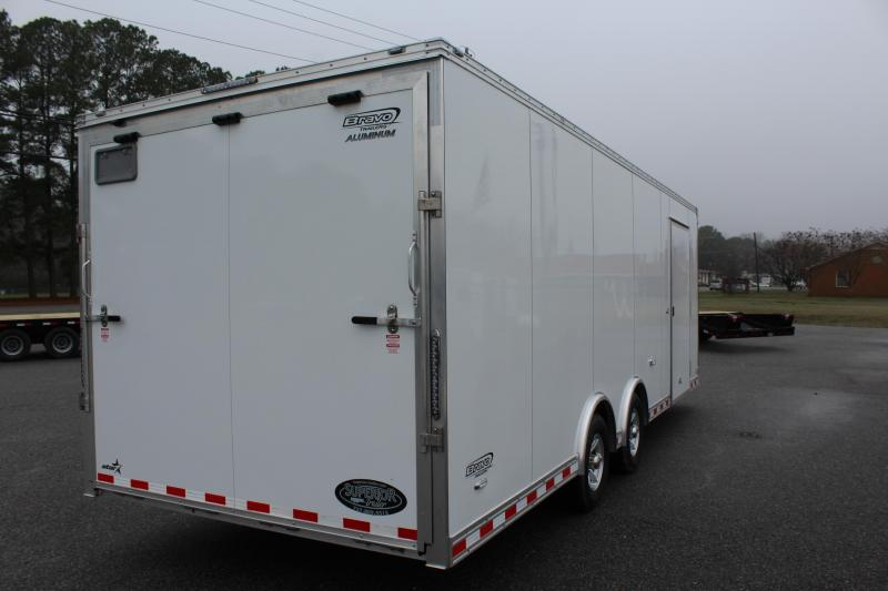2019 Bravo Trailers Aluminum Star 8.5X24 w/Ramp Door Enclosed Cargo Trailer