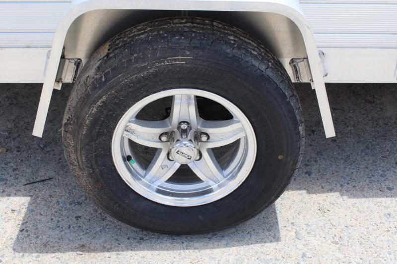 2018 Aluma 8114SR Utility Trailer w/ Side Ramps Sides & Bi-Fold Tailgate