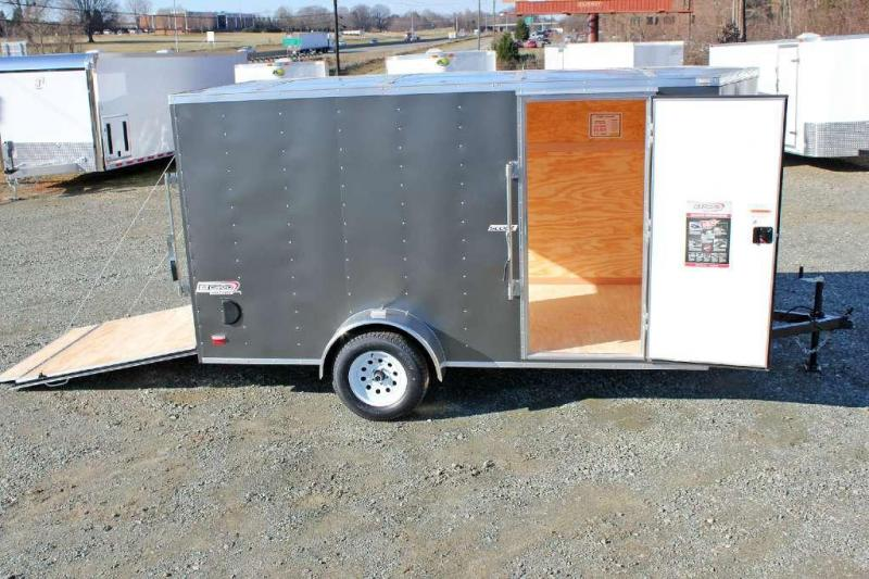 2015 Bravo Scout 6x12 w/ Ramp Door