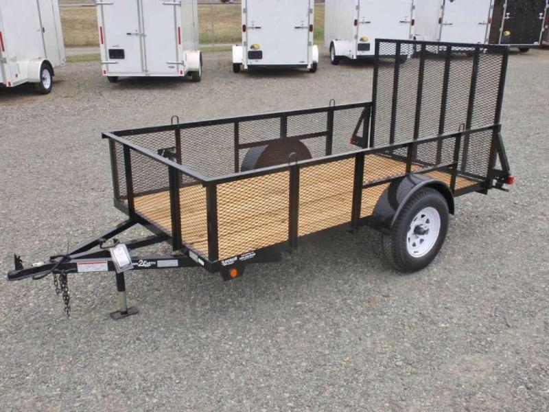 2017 Down 2 Earth Trailers 5X10 2ft Expanded Sides Utility Trailer w/ Tailgate