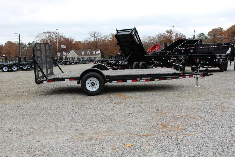 Single Axle Car Hauler : Open superior trailers nc and va flatbed cargo