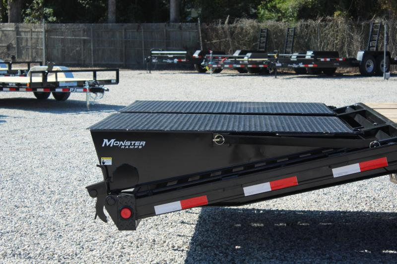 2018 PJ Trailers 25ft LD Low Pro Equipment Trailer