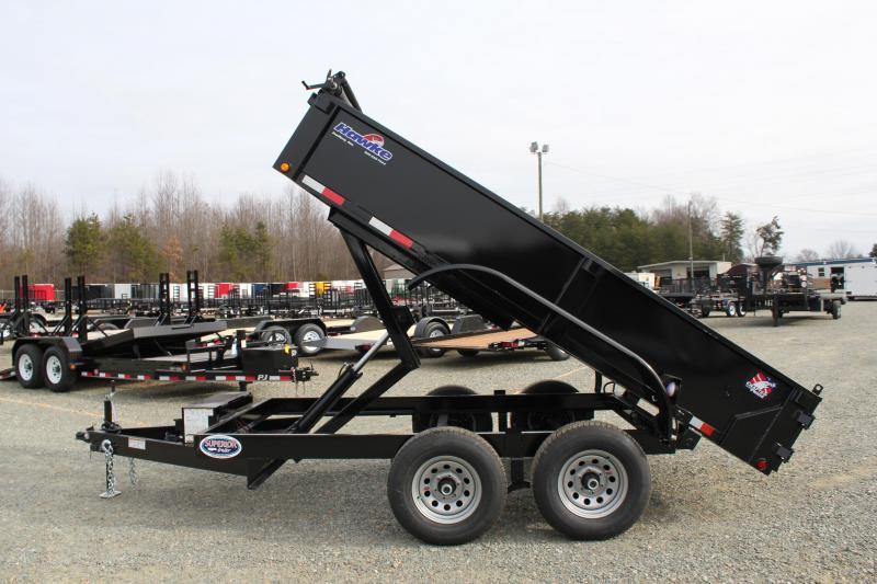 2018 Hawke 6X12 10K Dump w/ Tarp