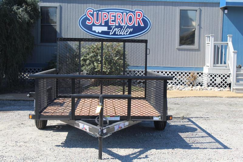 2017 Texas Bragg Trailers 6X10P 2ft Expanded Sides Utility Trailer w/ Tailgate