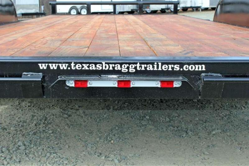 2017 Texas Bragg Trailers 18HCH Car Trailer w/ Slide in Ramps