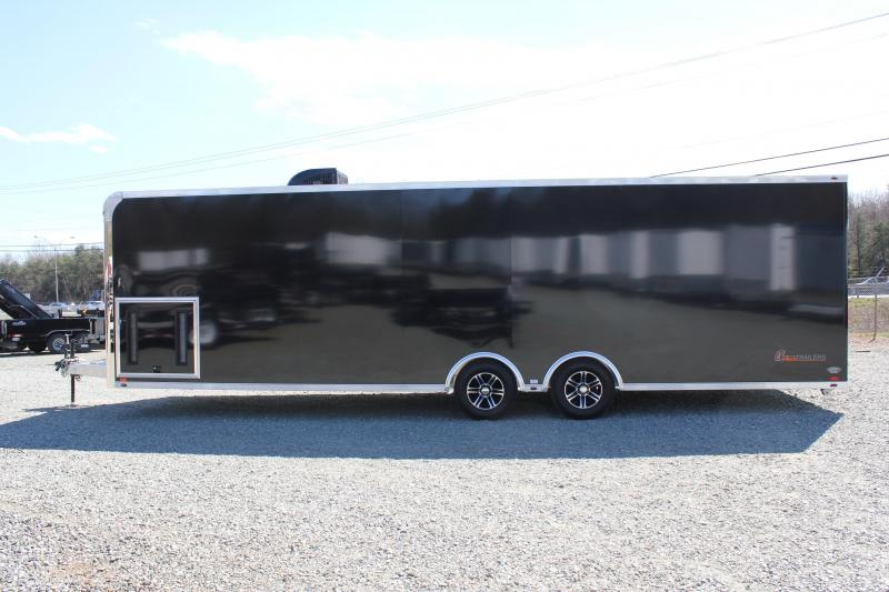 2016 inTech 8.5 x 28 10K ALUMINUM FRAME LOADED Trailer