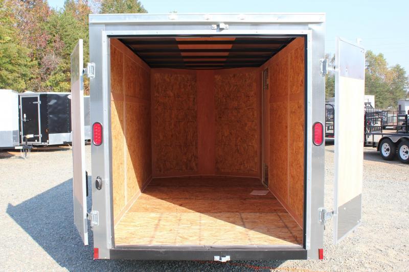 2018 Continental Cargo 6x12 Special w/ Double Rear Door