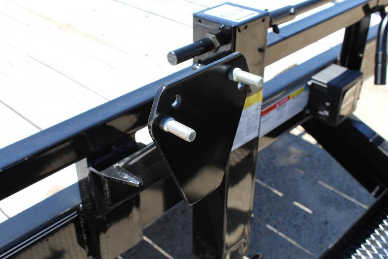 2086 PJ Trailers 20CC 14K w/ 5' Slide-In Ramps