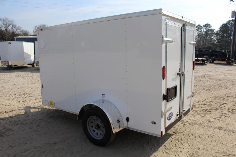 2018 Continental Cargo 5X10 w/Double Rear Doors