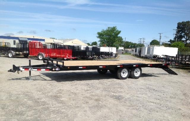 2018 PJ Trailers 18ft L5 7K Equipment Trailer