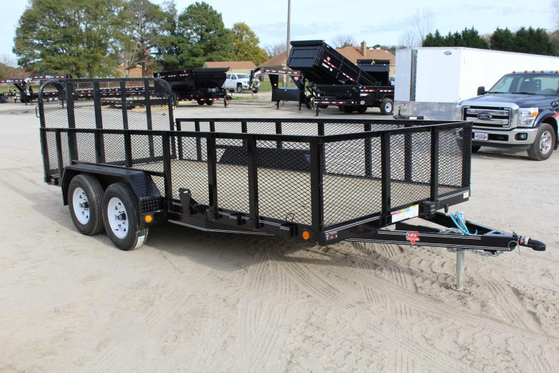 2018 PJ Trailers 16ft UL 7K Utility Trailer