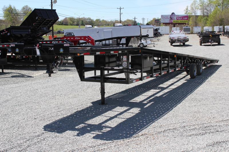 2016 Take 3 53' XT Gooseneck Car / Trailer Hauler w/ Winch & Front Flip Outs