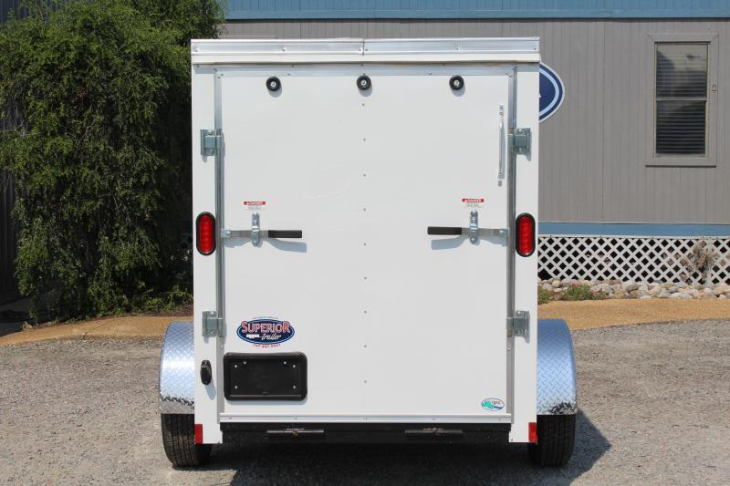 2018 Continental Cargo 5X10 w/Side Door & Ramp Door