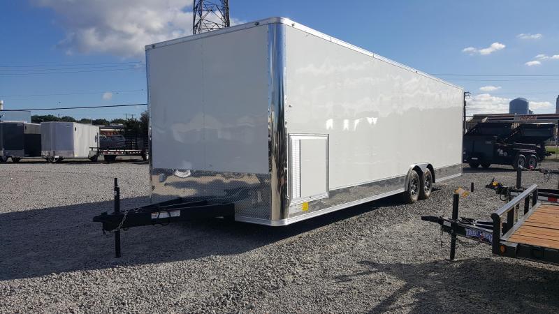 2018 Continental Cargo 8.5x28 10K LOADED Car Trailer