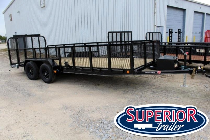 2018 PJ Trailers 18ft UL10K Utility Trailer