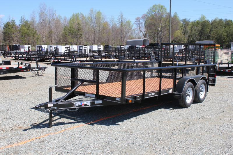2017 Texas Bragg 16P w/ 2ft Expanded Sides & Gate
