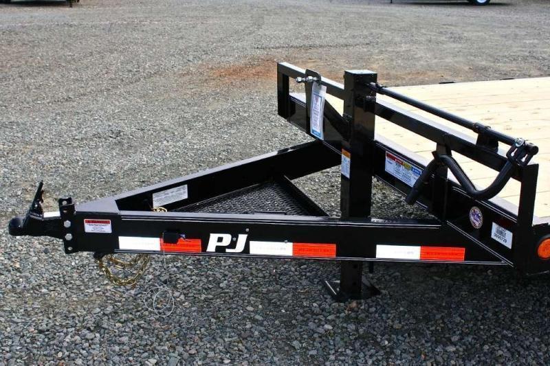 2018 PJ Trailers 20CC 14K w/ Fold Up Ramps
