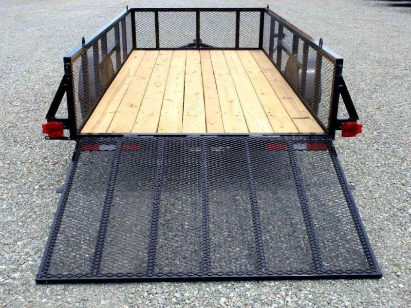 2017 Down 2 Earth 6X12 2ft Expanded Sides w/ Tailgate