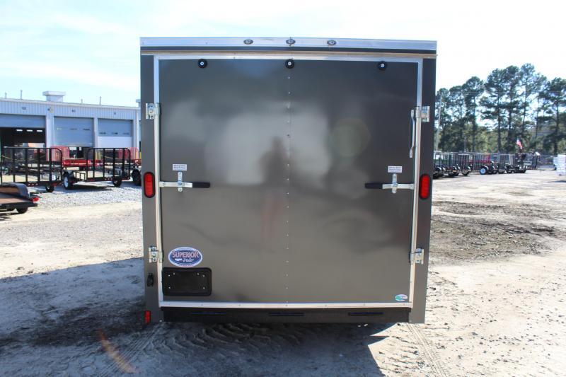 2018 Continental Cargo 7x14 w/ Ramp Door