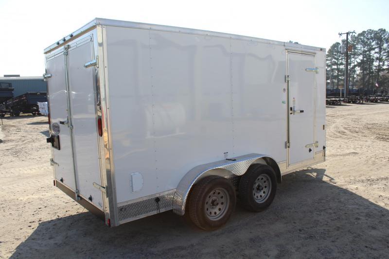 2018 Continental Cargo 7X14 Enclosed Cargo Trailer