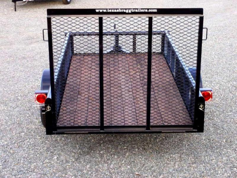 2017 Texas Bragg 5x10P Expanded Sides & Gate