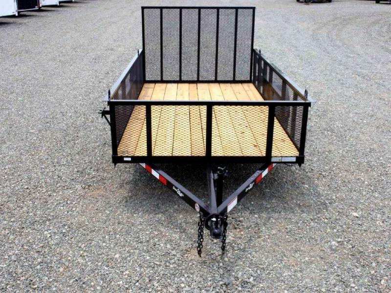 2017 Down 2 Earth 6x12 w/ 2ft Expanded Sides & Gate