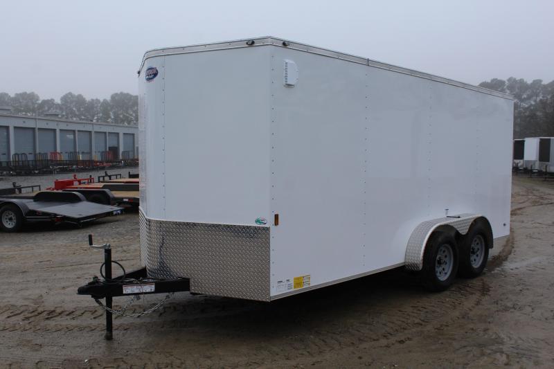 2018 Continental Cargo 7X16 w/Ramp Door