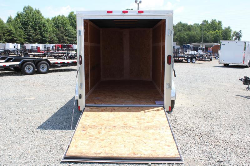 2018 Continental Cargo 6x12 Special w/ Ramp Door