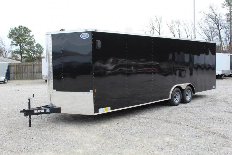 2018 Continental Cargo 8.5X24 10K w/ Ramp Door