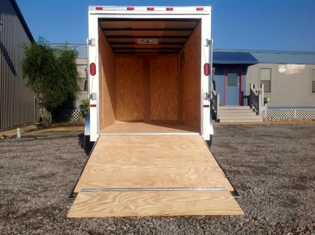 2018 Continental Cargo 6X12 w/Ramp Door
