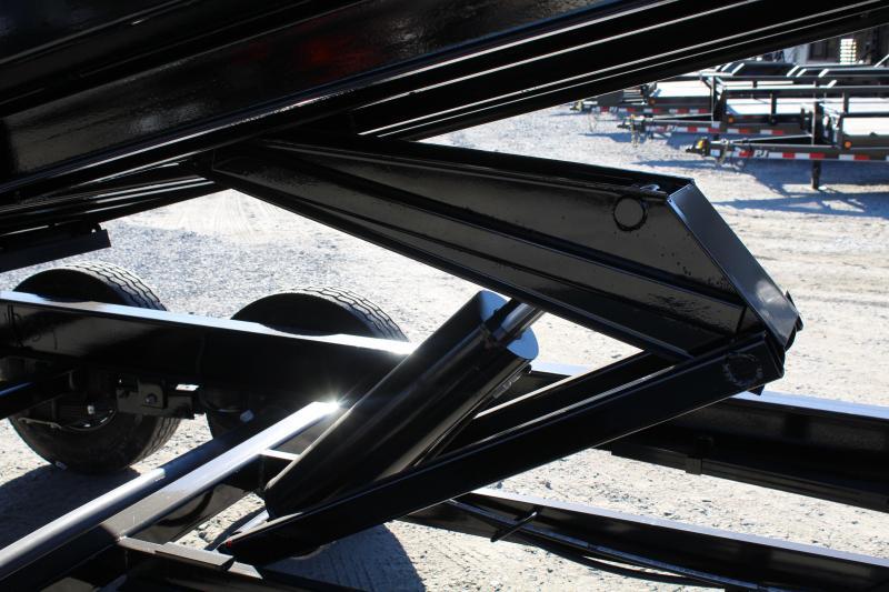 2018 PJ Trailers 7X14 DH 14K  High Side Dump Trailer
