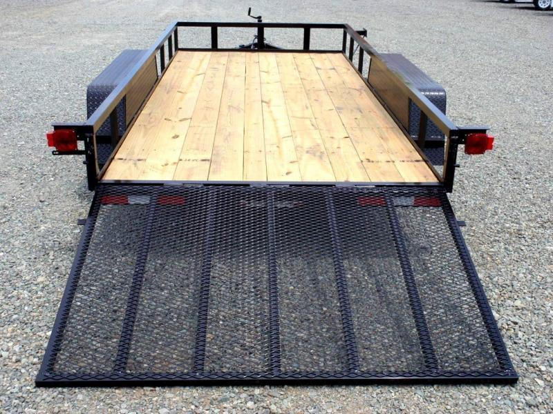 2017 Down 2 Earth 14ft Utility Trailer