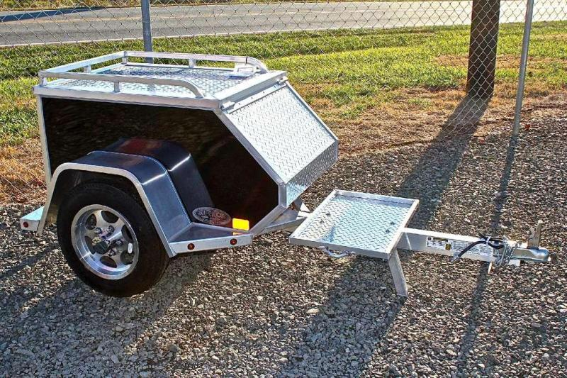 2015 Aluma MCT Towable Motorcycle Trailer