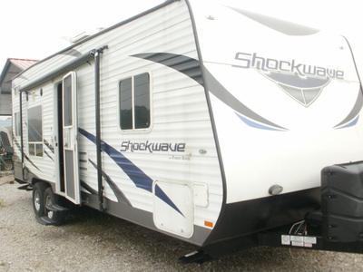 2013 Forest River Inc. Shockwave 24FSMX Camping / RV Trailer