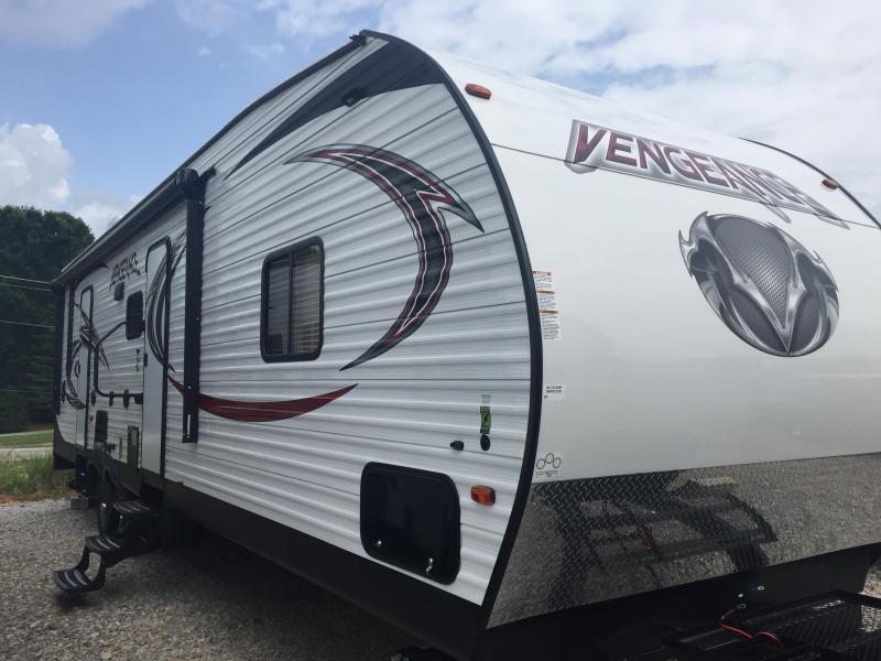 2017 Forest River Inc. Vengeance BVGT31V Toy Hauler