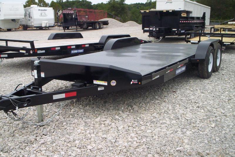 2018 Sure Trac 7 X 20 Steel Deck Car Hauler 10k Keller Trailers