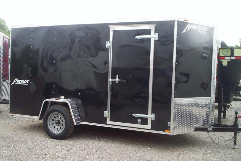 2017 Homesteader 612PS Enclosed Cargo Trailer