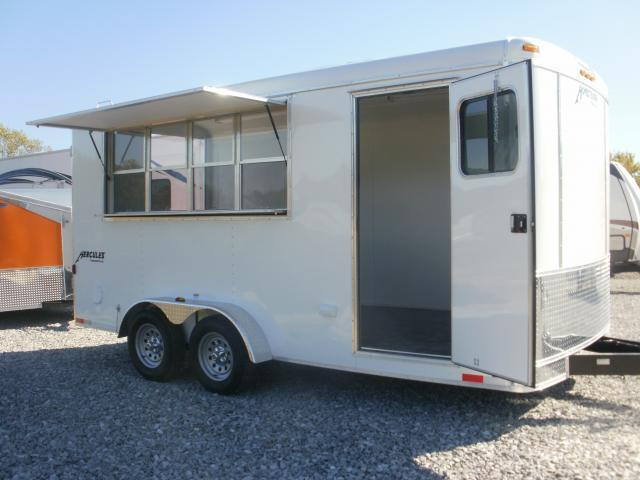 2016 Homesteader 7 X 16 HT Vending / Concession Trailer