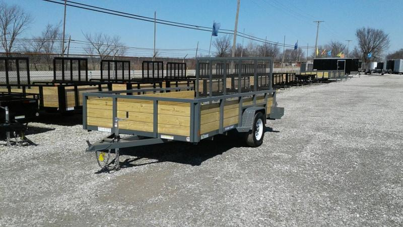 2017 Sure-Trac 7 x 12 3 Board Utility Trailer