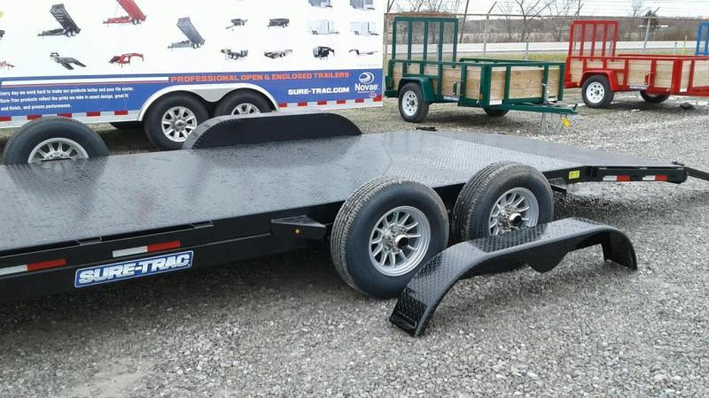 2018 Sure Trac 20 10k Steel Deck Car Hauler Trailer Kelley