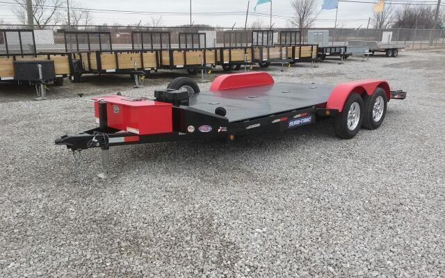 2017 Sure Trac 7x18 7k Steel Deck Car Hauler Kelley Sons