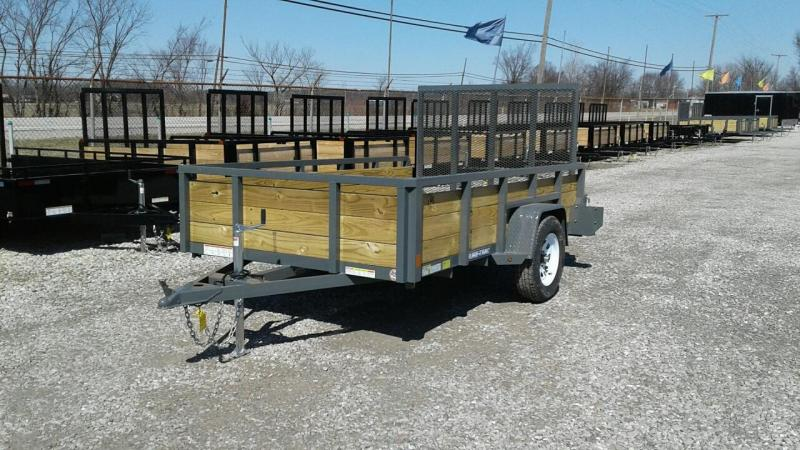 2017 Sure-Trac 6 x 10 3 Board Utility Trailer